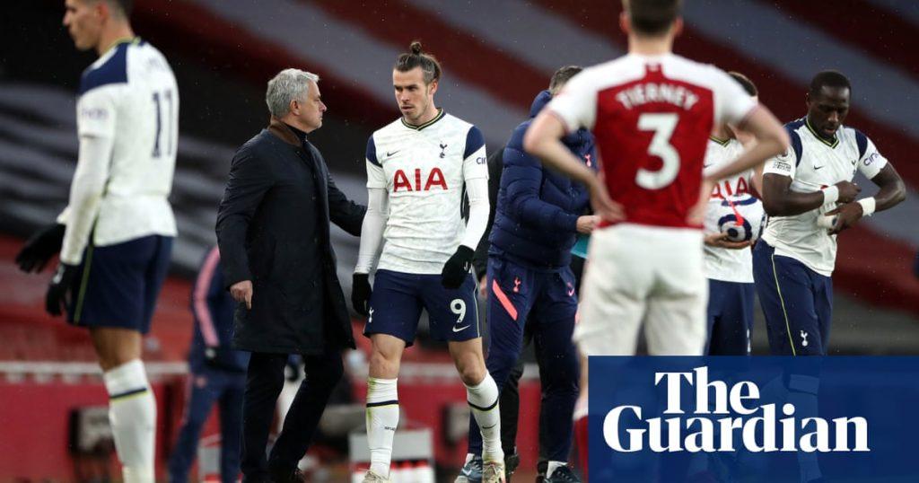 josé mourinho, tottenham oyuncularını arsenal'e karşı 'saklanmakla' suçluyor